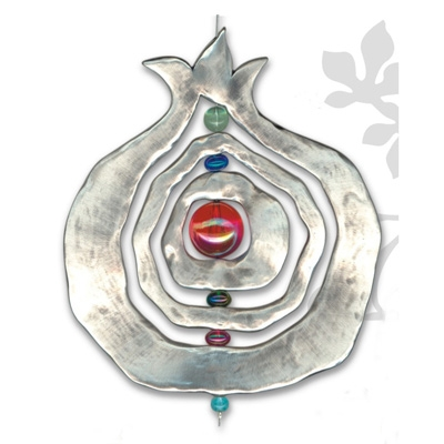 Large Pomegranate Wall Hanging - Plaque
