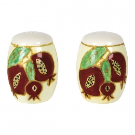 Salt and Pepper Shakers - Pomegranate