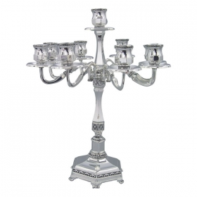 Shabbat Candlesticks - 9 Branch