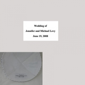 Personalized Kippot Labels