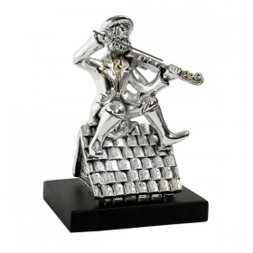 Fiddler on The Roof - Silver Plated Ornament
