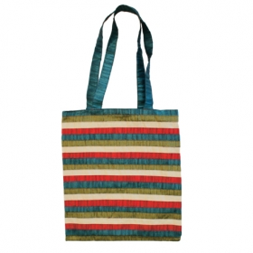 Bag - Striped Patches - Multicolor